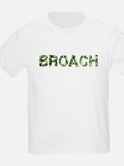 Broach, Vintage Camo, T-Shirt