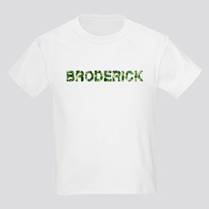 Broderick, Vintage Camo, Kids Light T-Shirt