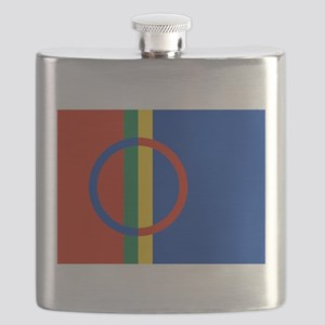 Flag of Sámi land Flask