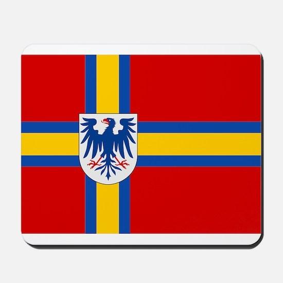 Flag of Värmland Mousepad