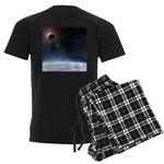 Outer Atmosphere of The Planet Earth Men's Dark Pa