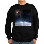 Outer Atmosphere of The Planet Earth Sweatshirt (d