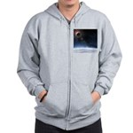 Outer Atmosphere of The Planet Earth Zip Hoodie