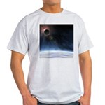 Outer Atmosphere of The Planet Earth Light T-Shirt
