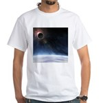 Outer Atmosphere of The Planet Earth White T-Shirt