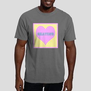 LOVE SKATING pink Mens Comfort Colors Shirt