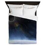 Outer Atmosphere of The Planet Earth Queen Duvet