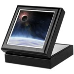 Outer Atmosphere of The Planet Earth Keepsake Box