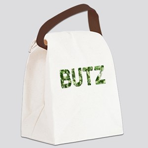Butz, Vintage Camo, Canvas Lunch Bag