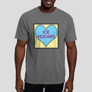 LOVE ICE HOCKY Mens Comfort Colors Shirt