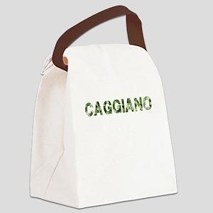 Caggiano Vintage Camo Canvas Lunch Bag