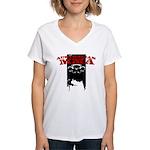 Australian MMA Women's V-Neck T-Shirt
