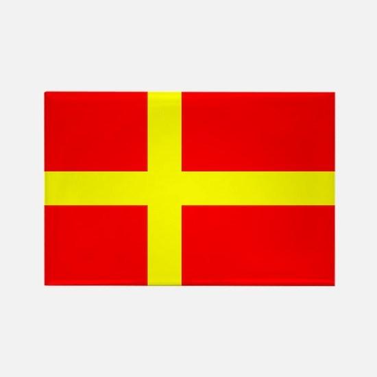 Flag of Skåne Rectangle Magnet (10 pack)