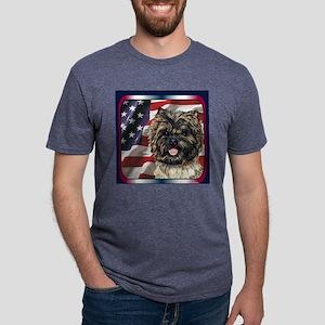 4CT01Tile Mens Tri-blend T-Shirt