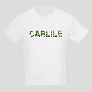 Carlile, Vintage Camo, Kids Light T-Shirt