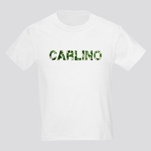 Carlino, Vintage Camo, Kids Light T-Shirt