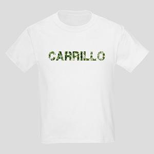 Carrillo, Vintage Camo, Kids Light T-Shirt