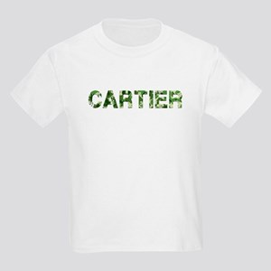 Cartier, Vintage Camo, Kids Light T-Shirt