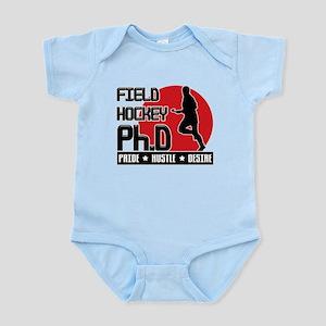Field Hockey Ph.D Infant Bodysuit