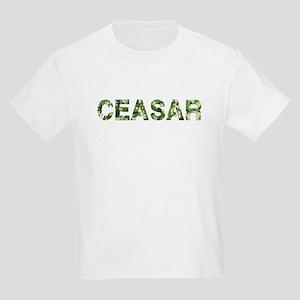 Ceasar, Vintage Camo, Kids Light T-Shirt