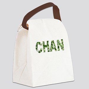 Chan, Vintage Camo, Canvas Lunch Bag