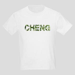 Cheng, Vintage Camo, Kids Light T-Shirt