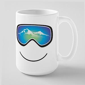 goggle black Mugs