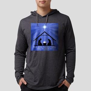 4-3-nativity3 Mens Hooded Shirt
