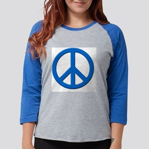 peace_300 Womens Baseball Tee