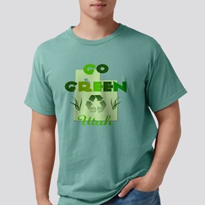 Go Green Utah Mens Comfort Colors Shirt