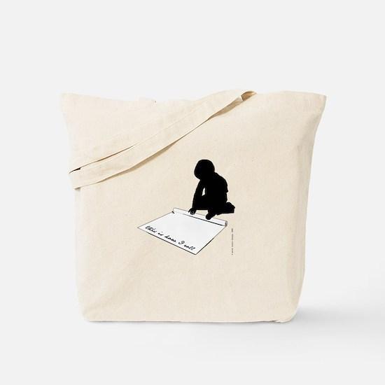 Unique Roll Tote Bag