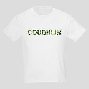 Coughlin, Vintage Camo, Kids Light T-Shirt