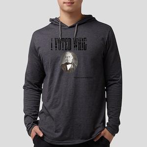 I Voted Whig Mens Hooded Shirt