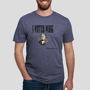 I Voted Whig Mens Tri-blend T-Shirt