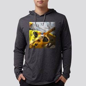 wallclock_greencastle_second Mens Hooded Shirt