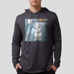 SNOWVOLLEYMANW Mens Hooded Shirt