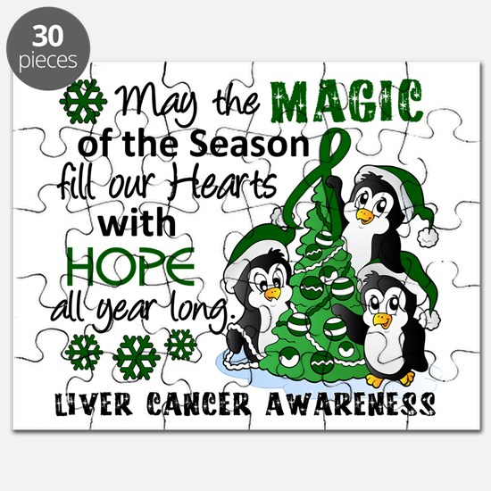 Holiday Penguins Liver Cancer Puzzle