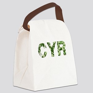 Cyr, Vintage Camo, Canvas Lunch Bag