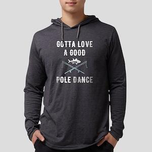 Gotta love a good pole dance Mens Hooded Shirt