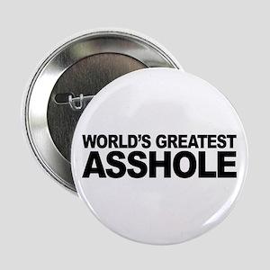 "World's Greatest Asshole 2.25"" Button"