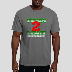 2termlimitblack Mens Comfort Colors Shirt