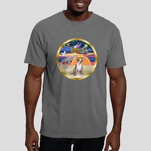 W-XmasStar-Chihauhua1.pn Mens Comfort Colors Shirt