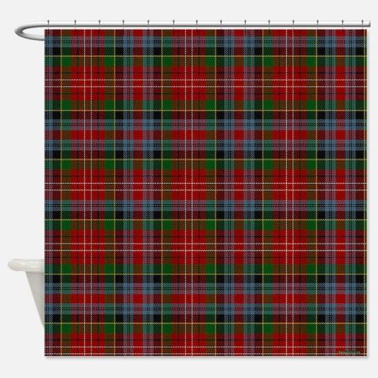 Caledonia Scottish Tartan Shower Curtain