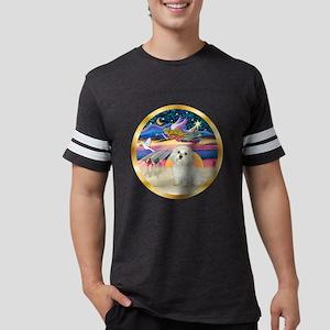 W-XmasStar-Maltese11 Mens Football Shirt