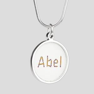 Abel Pencils Silver Round Necklace