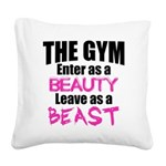 Leave beast Square Canvas Pillow