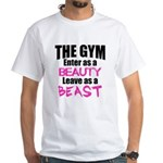 Leave beast White T-Shirt
