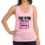 Leave beast Racerback Tank Top