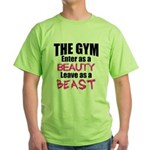 Leave beast Green T-Shirt