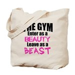 Leave beast Tote Bag